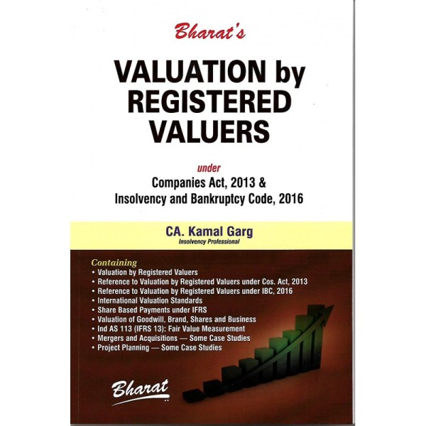 VALUATION BY REGISTERED VALUERS UNDER COMPANIES ACT, 2013 & INSOLVENCY AND BANKRUPTCY CODE