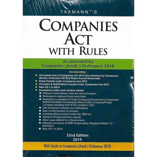 COMPANIES ACT WITH RULES POCKET
