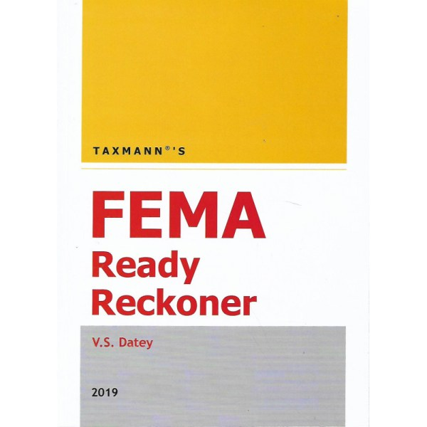 FEMA READY RECKONER BY V.S.DATEY