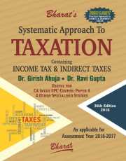 AC Inter Systematic Approach to TAXATION by Dr. Girish Ahuja & Dr. Ravi Gupta