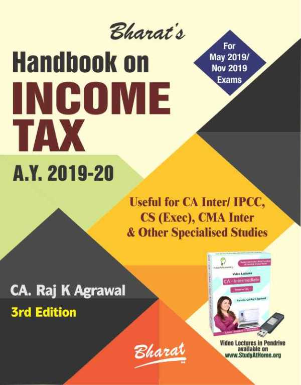CA Inter Handbook on INCOME TAX