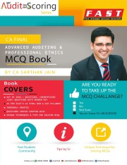 CA Final Audit MCQ Book With Answer Keys By CA Sarthak Jain