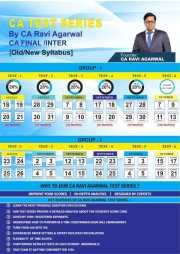 CA FINAL IDT Old/New Syllabus Test Series by CA Ravi Agarwal