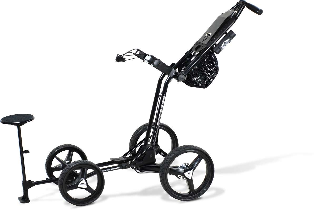 Golf Push Cart With Baby Seat