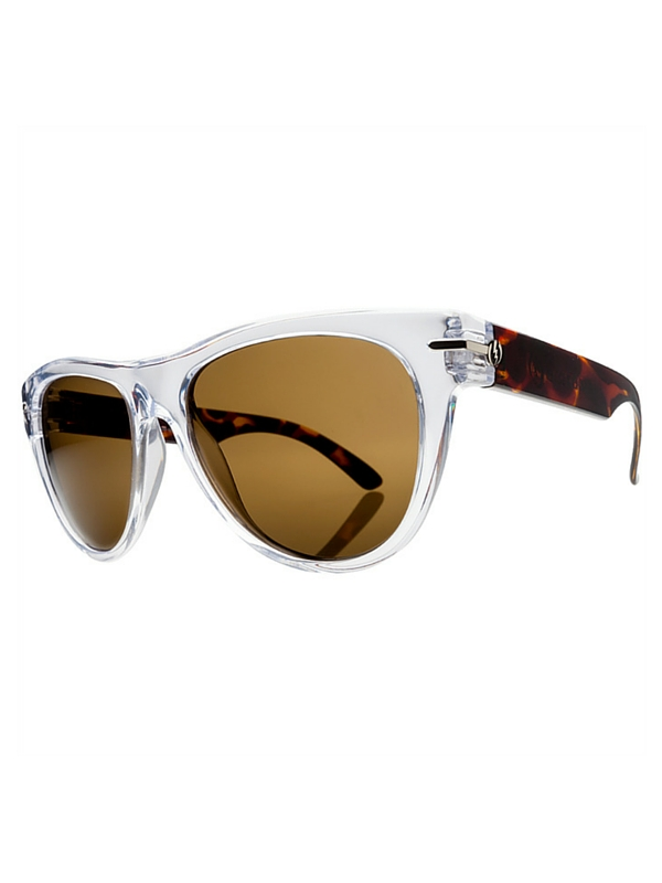Electric Flipside Sunglasses Tort Crystal- Melanin Bronze