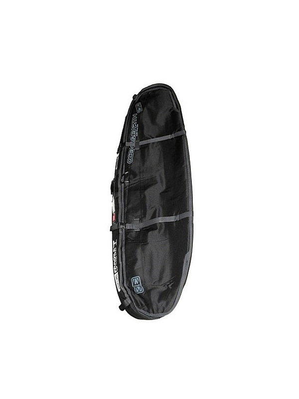OCEAN & EARTH TRIPLE SHORTBOARD COFFIN 7'6 ROUNDNOSE BOARD BAG WITH WHEELS