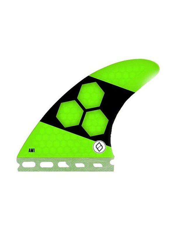 SHAPERS FINS FUTURE CORE LITE AM1 GREEN THRUSTER FINS