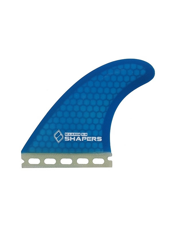 SHAPERS FINS FUTURE CORE LITE S6 BLUE THRUSTER FINS