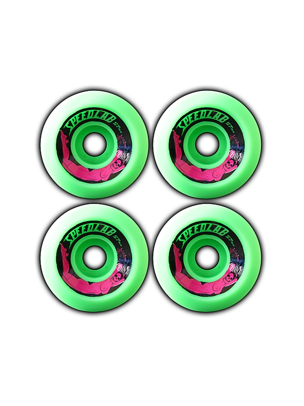 SPEEDLAB WHEELS BOMBSHELLS 57MM-99A GREEN