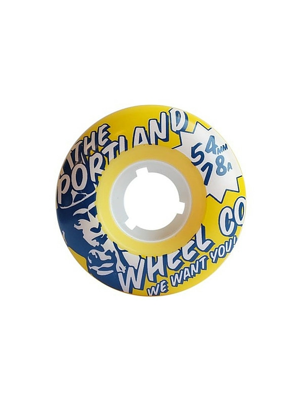 THE PORTLAND WHEEL COMPANY SCOUTS 54MM SKATEBOARD WHEELS