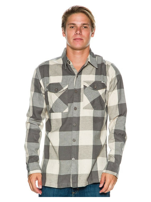 LOST SKITCHY LONG SLEEVE SHIRT