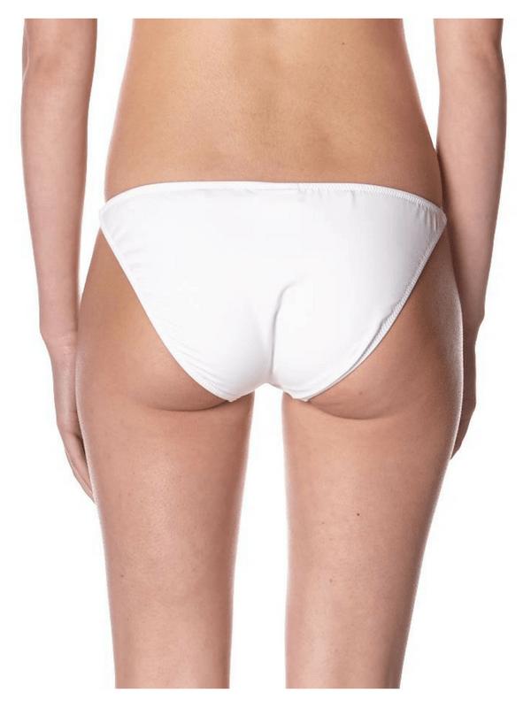 BCBGMAXAZRIA – DIVINE BIKINI BOTTOM – WHITE (1)