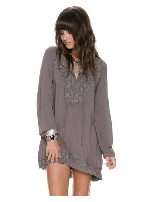 JAMISON EMBROIDERED TUNIC