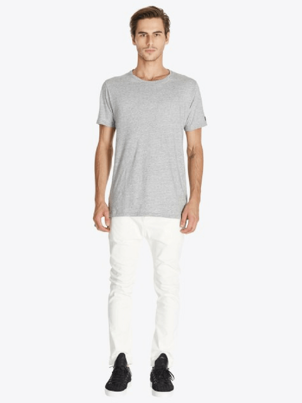 ZANEROBE LOW BLOW MENS JEAN - WHITE