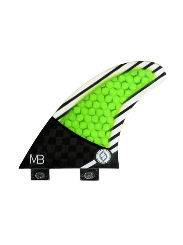 shapers-fins-fcs-carbon-hybrid-mb01-thruster-fins-medium-green%2f-black