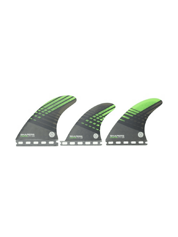 shapers-fins-future-carbon-hybrid-carvn-series-6-fin-set-up-medium-large-smoke-%2f-green