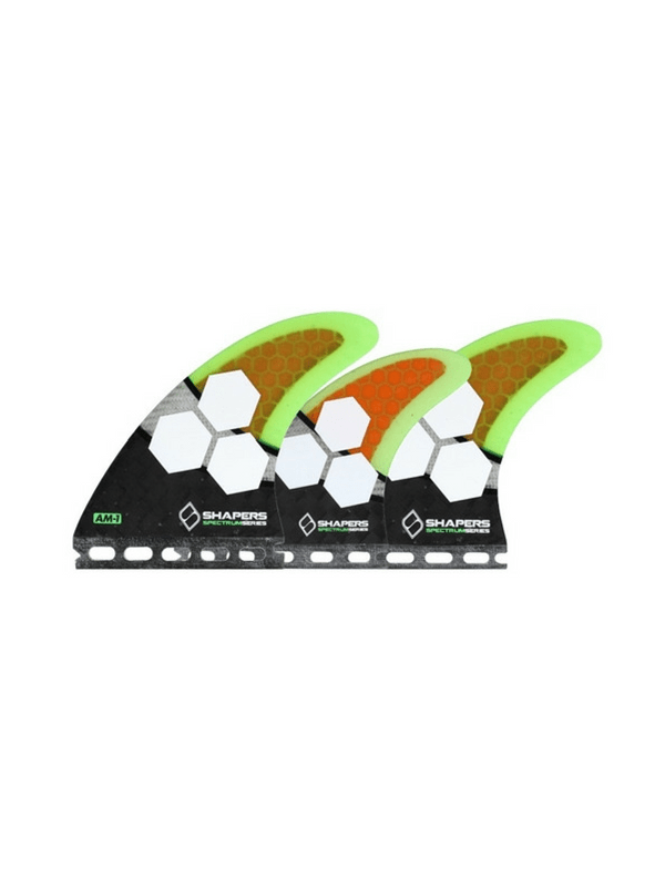 shapers-fins-future-carbon-spectrum-am1-5-fin-set-medium-black-orange-green