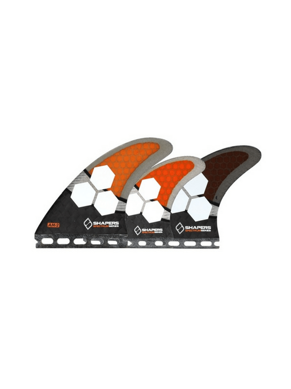 shapers-fins-future-carbon-spectrum-am2-5-fin-set-large-black-orange-grey