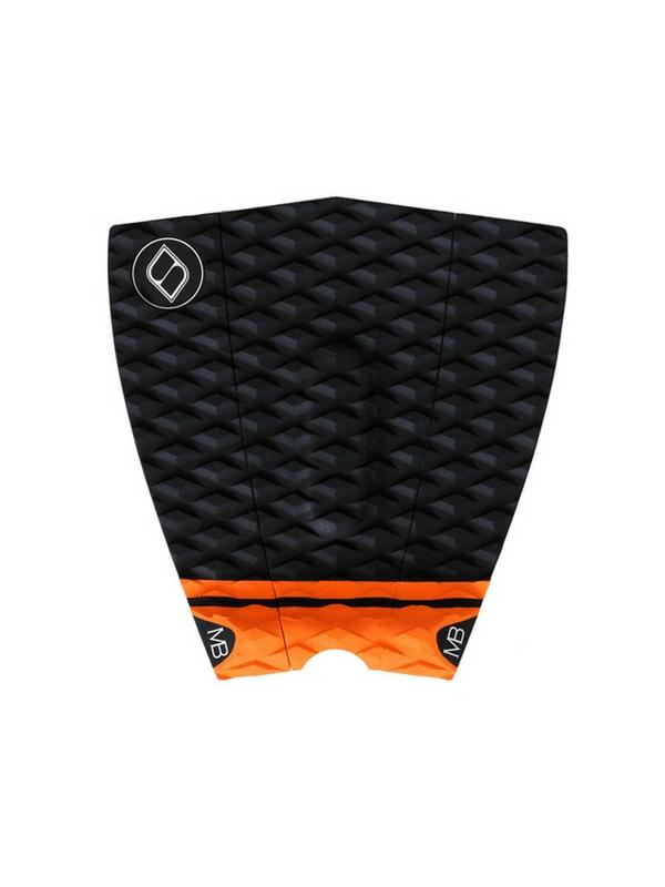 shapers-matt-banting-kicker-3-piece-surfboard-traction-tailpad-black%2f-orange