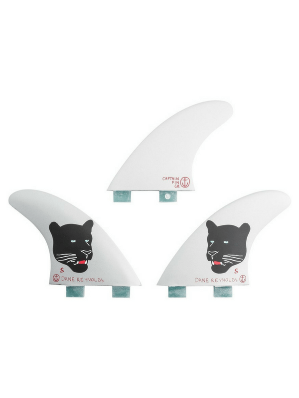CAPTAIN FIN DANE REYNOLDS SMALL DUAL TAB THRUSTER SURFBOARD FINS