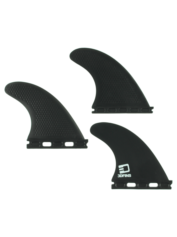 3D XCS LITE FULL-BASE XS KERR BLACK FINS