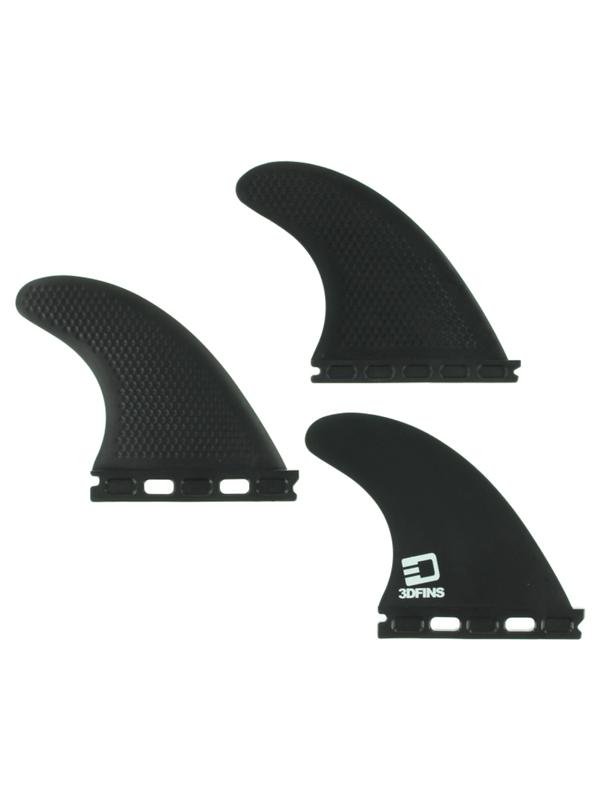 3D XCS LITE FULL-BASE XS KERR BLACK FINS