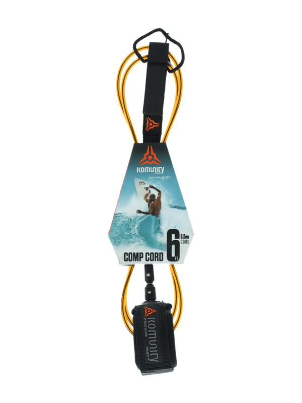 KOMUNITY PROJECT 6' COMP SURF LEASH - ORANGE