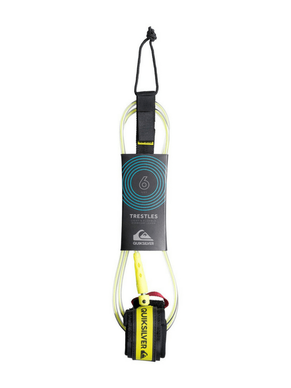 Quiksilver Trestles Pro - 6'0 Surf Leash - Yellow