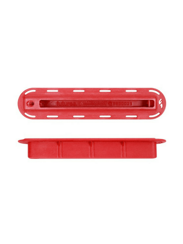 FUTURES FINS 34'' RED FIN BOX W 10-24 THREAD SIDE