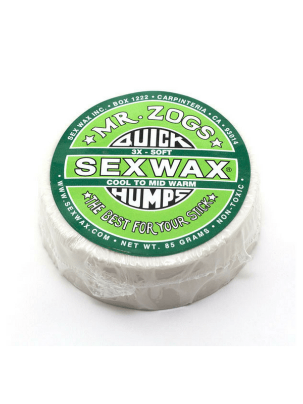 SEX WAX QUICK HUMPS 3X SOFT COOL TO MID WARM COCONUT