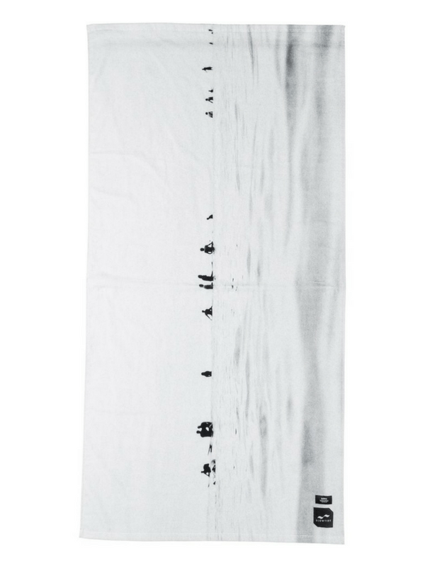 Slowtide X Banks Seabirds beach towel