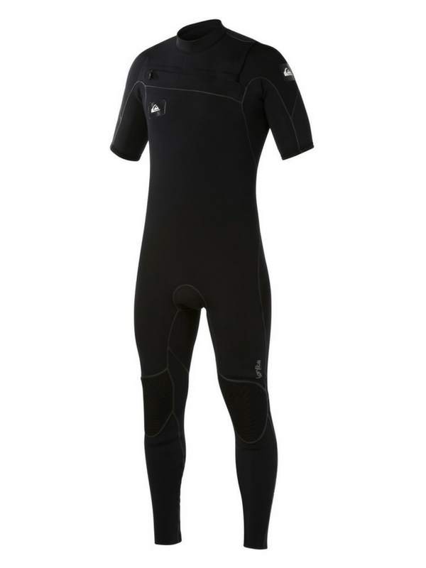 QUIKSILVER IGNITE 22MM CHEST ZIP SHORT SLEEVE WETSUIT
