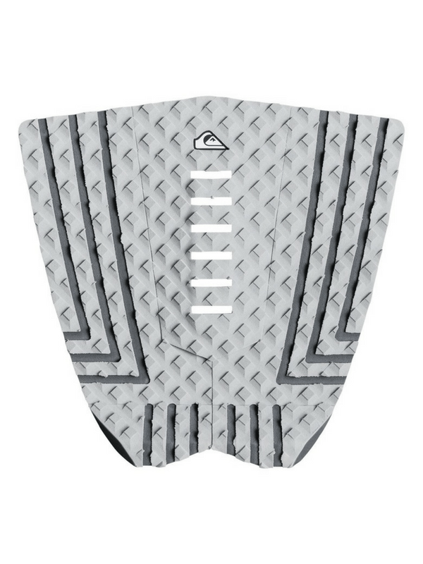 QUIKSILVER THE SUIT TRACTION PAD - GREY BLACK