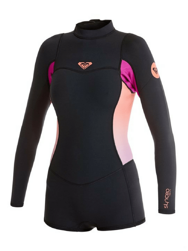 ROXY SYNCRO 2MM BOOTIE CUT LONG SLEEVE SPRINGSUIT - Shop.Surf 1ff3a605f