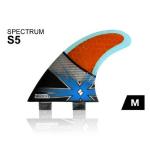 SHAPERS FINS SPECTRUM S5 MEDIUM THRUSTER FCS (1)