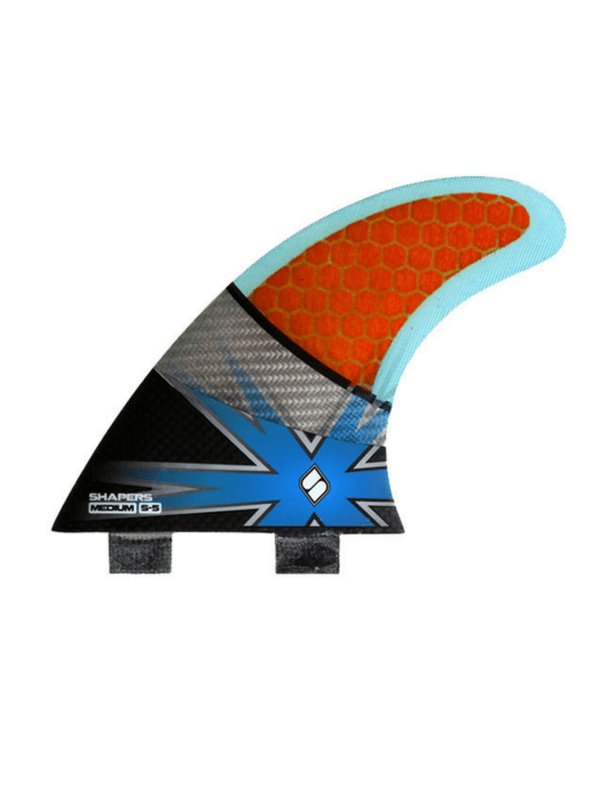 SHAPERS FINS SPECTRUM S5 MEDIUM THRUSTER FCS