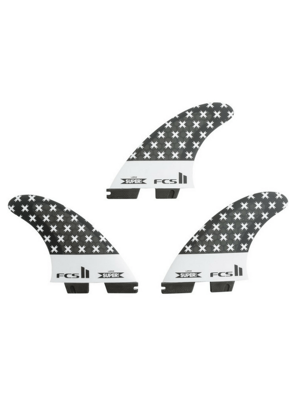FCS II SUPER BRAND PC TRI FIN SET