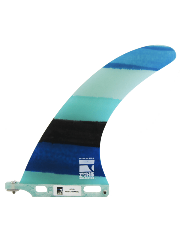 Fins Unlimited D Performance Turquoise MultiColor