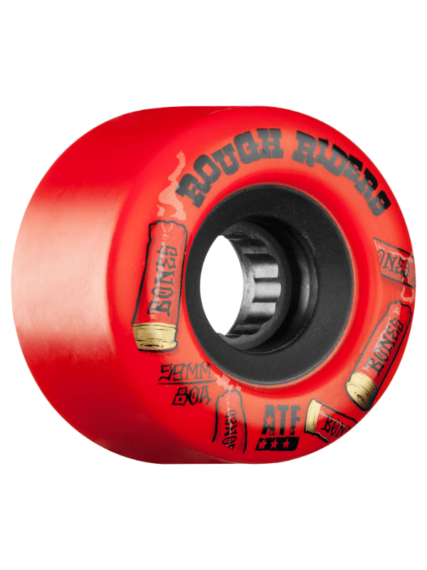 BONES ATF ROUGH RIDER SHOTGUN 56mm 80a RED