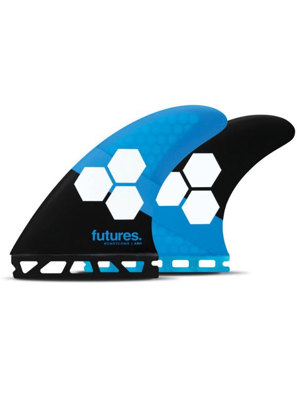 FUTURE FINS AM1 HONEYCOMB THRUSTER - BLUE_BLACK