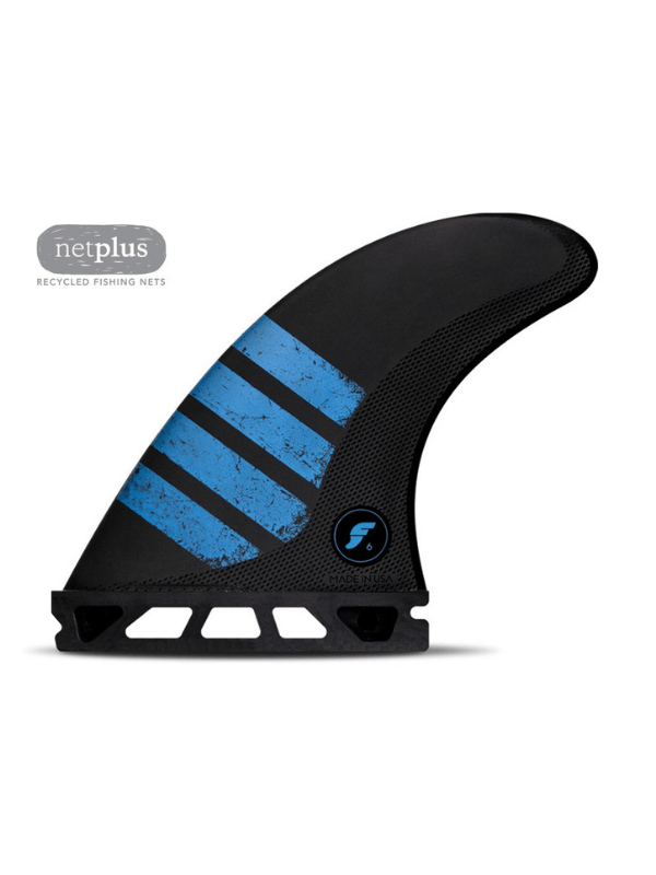 FUTURE FINS F6 THRUSTER - ALPHA SERIES CARBON_BLUE