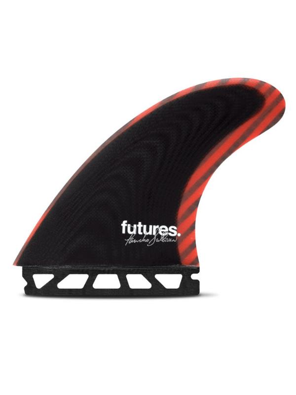 FUTURE FINS PANCHO SULLIVAN CONTROL SERIES FIBERGLASS THRUSTER – BLACK_RED