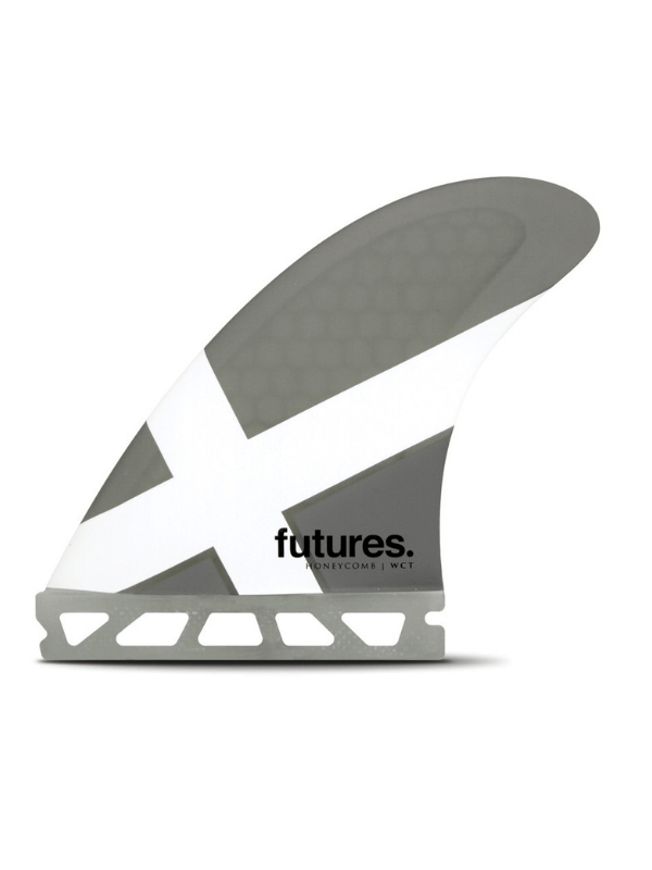 FUTURE FINS WCT HONEYCOMB THRUSTER - GREY_WHITE