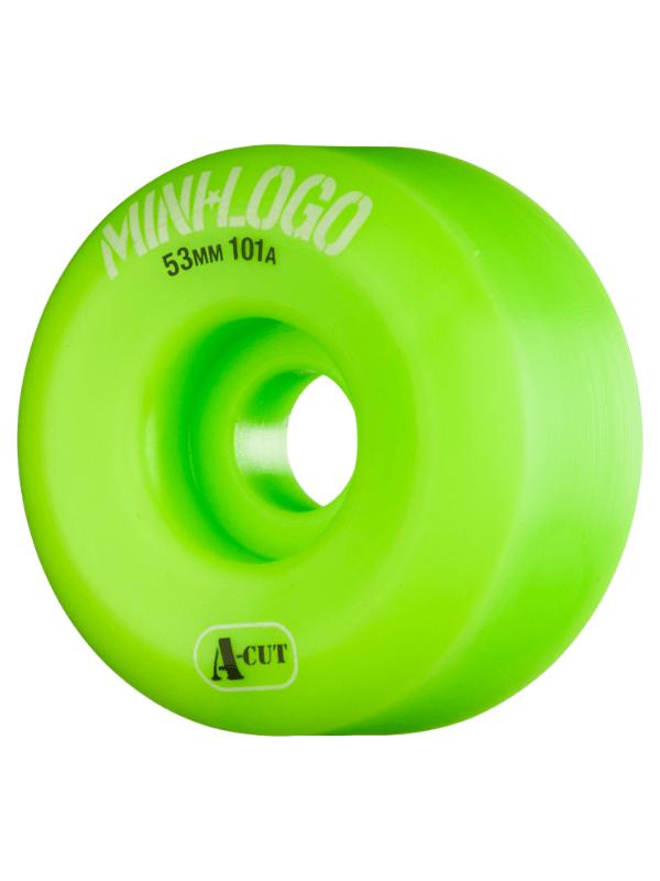 MINI LOGO A-CUT 53mm 101a GREEN ppp