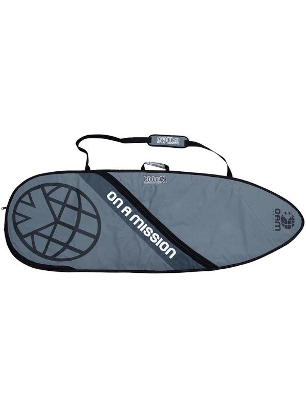 ON AN MISSION OAM DAY MISSION 6'3|SHORTBOARD BAG GREY ON GREY