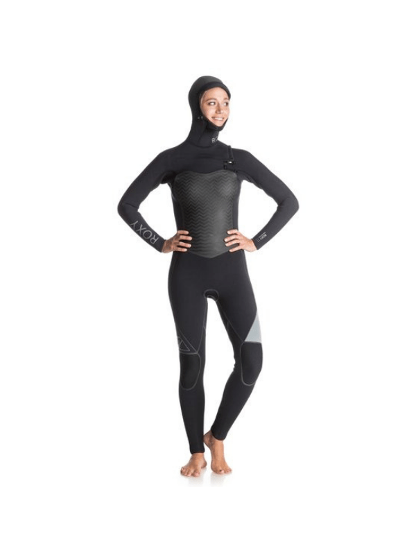 Performance 5_4_3mm – Chest Zip Hooded Full Wetsuit-2