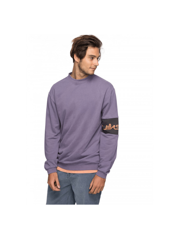QUIKSILVER MENS WAVE SLIDE CREW JUMPER