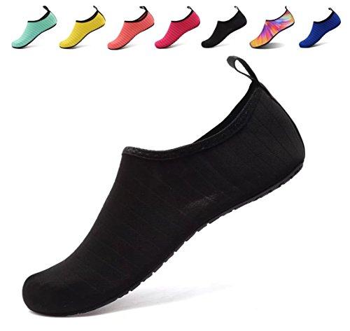US Unisex Water Shoes Slip on Aqua Socks Yoga Exercise Pool Swimming Surf See