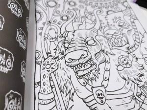 Creepy Creatures Book Detail5