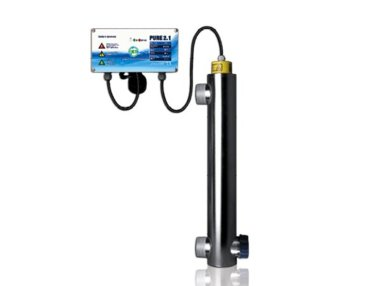 UV-Klärgerät 50 Watt, Teichpflege, Algenbekämpfung, Fischteich